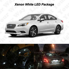 12 x White LED Interior Bulbs + License Plate Lights For 2000-2017 Subaru Legacy