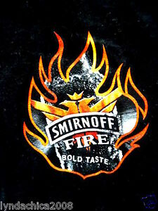 SMIRNOFF FIRE Promo Shirt (Size M) VERY RARE!