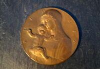 wunderschöne alte Medaille Arnold Hartig Ave Maria seltenes Sammlerstück