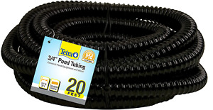 Pond Pump Tubing 3/4 In Diameter 20 Ft Long Connection Component Plastic Outdoor
