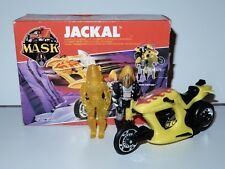 M.A.S.K BARRACUDA JACKAL JET CYCLE 100% COMPLETE MIB EURO BOX KENNER
