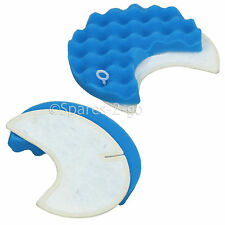 2 x Foam Micro Air Filters for SAMSUNG SC-8442 SC8442 Vacuum Cleaner Hoover