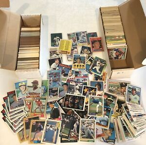 Large Card lot Stars Hof Rookie Ken Griffey Jr Cal Ripken Nolan Ryan Barry Bonds