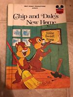 Walt Disney's Chip and Dales New Home Hard Cover Book Club Edition 1979