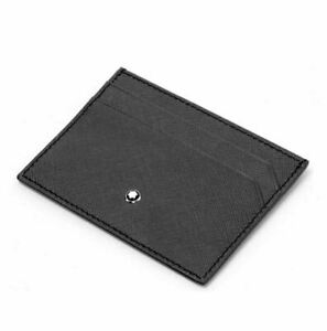 [Mont Blanc] 114603 Sartorial 5CC Pocket Holder Card wallet ⭐Tracking⭐