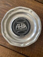 2009 Alta Atlanta Lawn Tennis Assn City Finalist Winner Award Plate Trophy!