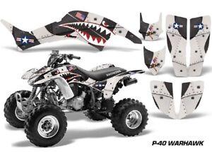 ATV Graphics Kit Decal Quad Sticker Wrap For Honda TRX400EX 1999-2007 WARHAWK BL