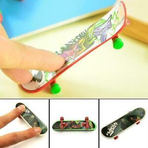 Finger Skateboard Fingerboard Skate Board Kids Table Deck Mini Plastic Toy