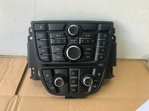 Vauxhall Astra J 1.4 2014 Heater, Stereo Multi-Functional Button Switch Panel.