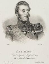 ANTONIN; DUCARME, Porträt des L. A. D.' Artois, Lithographie