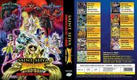 Saint Seiya (TV + Hades + Lost Canvas + Soul Gold + Saintia + 5 MV) ~ All Region