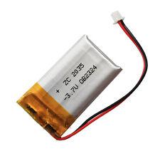 3.7V 400 mAh Li-polymer rechargeable Connector Li-Po  402035 for mp3 mp4 GPS