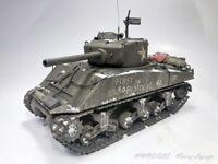 Sherman M4A3E2 Jumbo - First in Bastogne   1:35 - gebaut und gemalt (Pro-Built)