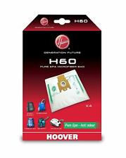 Genuine HOOVER H60 Anti Odour Filtration Bags Sensory Purepower 4 Bags 35600392