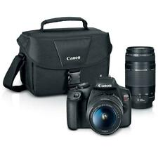 Canon EOS Rebel T7 24.1MP DSLR Camera with EF-S 18-55mm and EF 75-300mm Lens