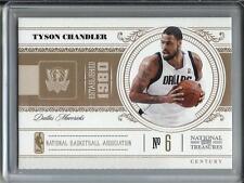 Tyson Chandler 10/11 National Treasures Century #01/10