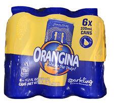 Orangina Cans -2 Six Packs