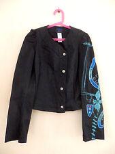 veste Christian Lacroix Jeans, taille 36 fr, noir, authentique