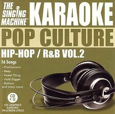 Singing Machine Karaoke : Karaoke: Hip Hop - R&B 2 CD