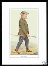 PACKET  OF  50  -  VANITY  FAIR  PRINTS  -  GOLFER  -  J. H.  TAYLOR