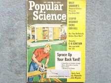 1965 POPULAR SCIENCE  MAY  BILLY GRAHAM'S PHYSICAL-FITNESS PROGRAM  HIGHWAY SIGN