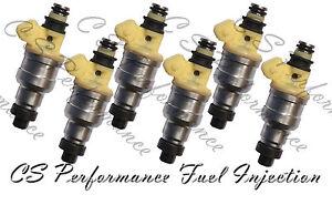 OEM Nikki Fuel Injectors for 1991-1993 92 Dodge Stealth 3.0L 3.0 V6 Base ES R/T