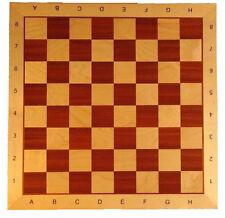 Schach, Schachbrett aus Holz 55 x 55 cm FG 58 mm