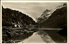 Lønvand Norway Norge AK ~ 1930/40 Fjord sea waters Mountains Landscape Landskap