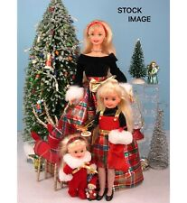 NEW IN BOX 1998 HOLIDAY SISTERS BARBIE, KELLY & STACIE GIFT SET