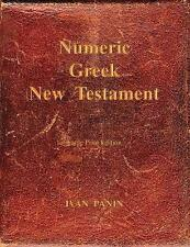 Numeric Greek New Testament: Large Print by Panin, Ivan -Paperback