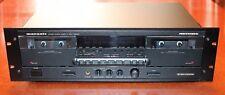Marantz PMD500u Professional Double Cassette Deck W/Rack Mount PMD500 Japan