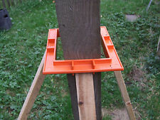 3 x Fencing Collars Concrete Wood Fence Post Panel Free Postlevel Erecting