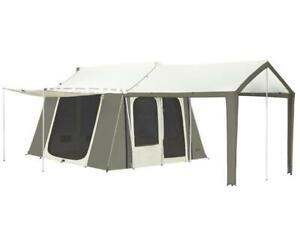 Kodiak Canvas Deluxe 12x9 6 Person Tent - 6133
