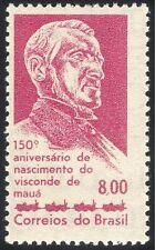 Brazil 1963 Viscount de Maua/Santos-Jundiai Railway/People/Transport 1v (n28011)
