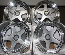"17"" DR-F5 ALLOY WHEELS FITS 5X98 ALFA ROMEO 147 156 164 GT FIAT 500L DOBLO"