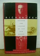 Richthofen Beyond the Legacy of the Red Baron by Peter Kilduff 1993 HB/DJ Signed