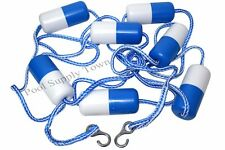 18' Feet Swimming Pool Safety  Rope & Float Divider Line with Stainless  Hook