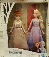 Disney Frozen 2 II Movie ANNA & ELSA Fashion Dolls 2-Pack Doll Set New 2019