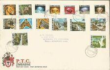 ZIMBAWE 1980 ATTRACTIVE FIRST DAY COVER DEFINITIVE ISSUE AND TWO OTHERS