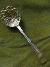 cuillere à saupoudrer argent vieillard 1819 (french silver sprinkler spoon) 54g