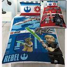 LEGO STAR WARS réversible Housse de couette Set de LITERIE NEUF 2 en 1