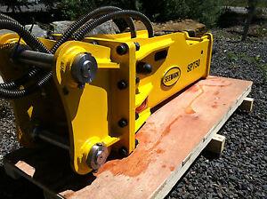 SP-750 Hydraulic Rock Breaker / Hammer suit 6 - 9 Ton Excavator & most Backhoes