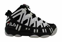 Fila Mens Spaghetti 95 Hight Top Lace Up Basketball Shoes, WBK, Size 9.0