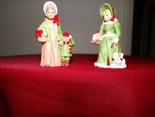 lefton colonial village figurines :The Eberhardts 05910