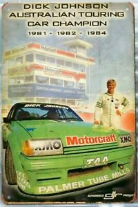Dick Johnson Touring Car tin metal sign MAN CAVE brand new free postage