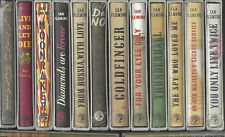 COMPLETE SEALED SET ALL 14 IAN FLEMING JAMES BOND FIRST EDITION LIBRARY SLIPCASE