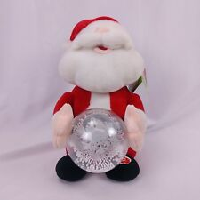 Be Jolly Animated Musical Santa Plush Led Lights Santa Claus is Comin to Town