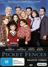 Picket Fences : Season 3 (DVD, 6-Disc Set) BRAND NEW SEALED