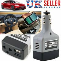 12V DC to 220V AC Car Power Inverter Main Converter Charger for Mobile Laptop BN