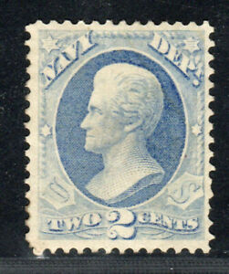 1873 US Navy Department SC O36 2c, Mint, Hinged No Gum
